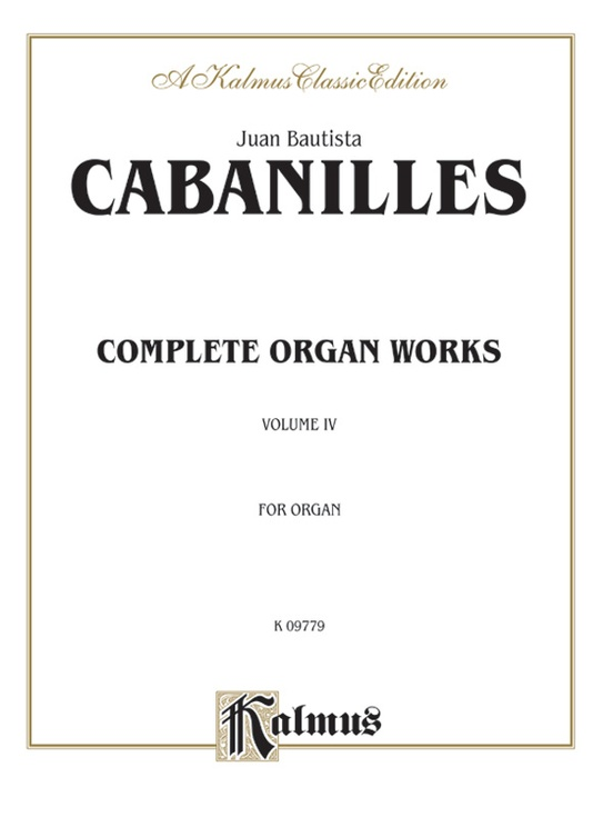 Complete Organ Works, Volume IV