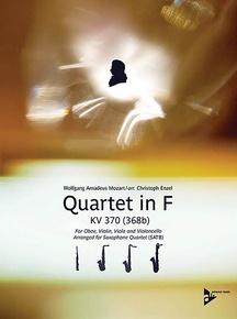 Quartet in F KV 370 (368b)