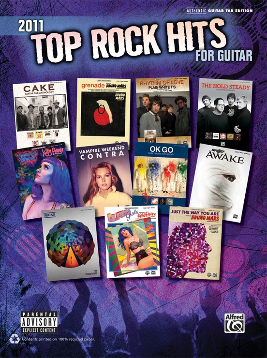 2011 Top Rock Hits for Guitar