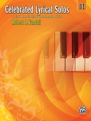 Celebrated Lyrical Solos, Book 1