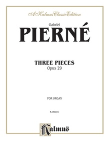 Three Pieces, Opus 29