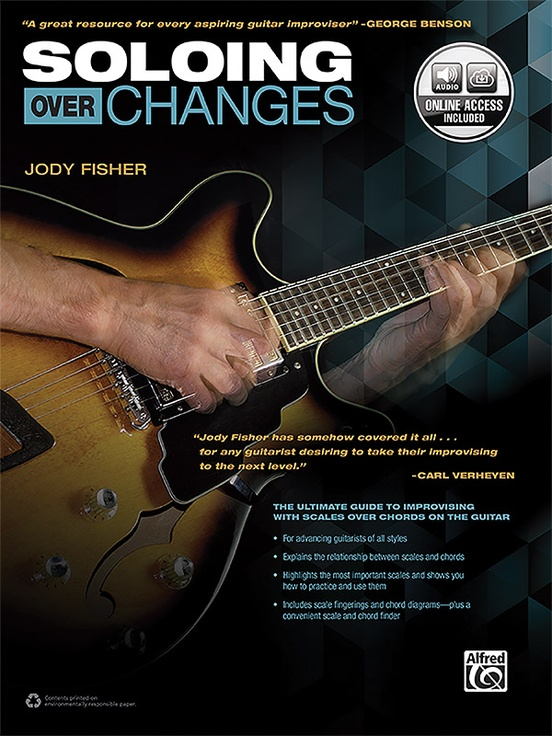 Soloing over Changes: Guitar Book & Online Audio