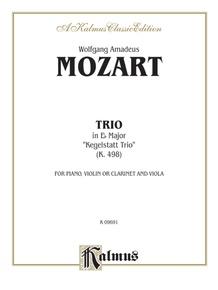 Trio in E-flat, K. 498