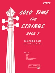 Solo Time for Strings, Book 1