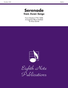 Serenade (from <i>Swan Songs</i>)