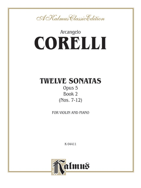 Twelve Sonatas, Opus 5, Volume II