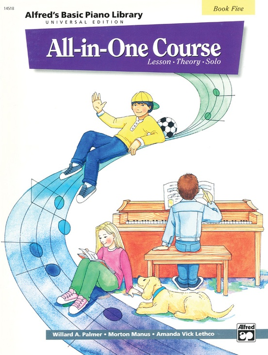 Alfred's Basic All-in-One Course Universal Edition, Book 5