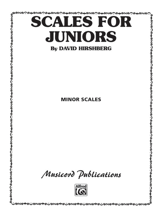 Scales for Juniors, Part 2 (Minor)