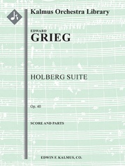 Holberg Suite, Op. 40 (Aus Holbergs Zeit)