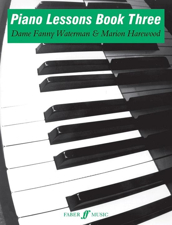 Piano Lessons, Book Three