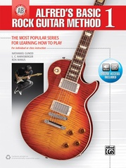 Alfred's Basic Rock Guitar Method 1