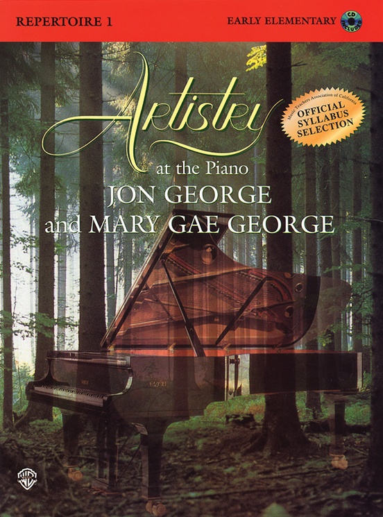 Artistry at the Piano: Repertoire, Book 1