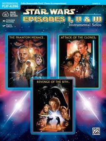 Star Wars®: Episodes I, II & III Instrumental Solos for Strings