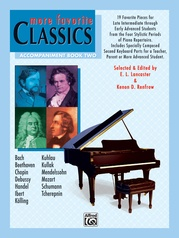 More Favorite Classics: Accompaniment, Book 2