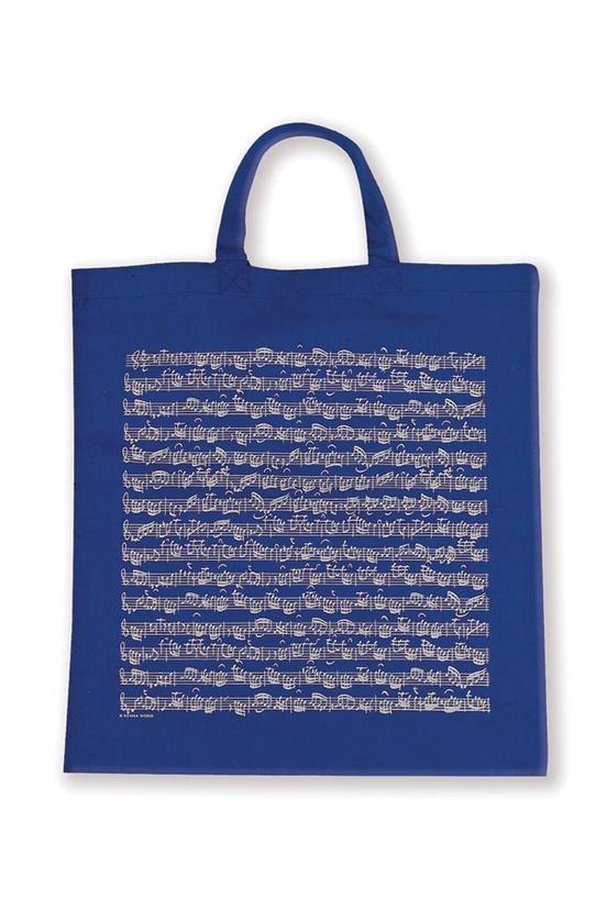 Tote Bag: Sheet Music (Blue)