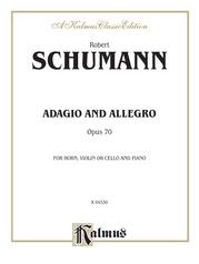 Adagio and Allegro, Opus 70