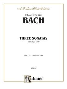 Three Sonatas for Viola da Gamba, BWV 1027-29
