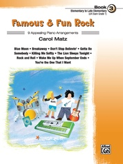 Famous & Fun Rock, Book 3