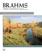 3 Intermezzi, Opus 117