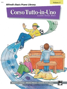 Alfred's Basic All-in-One Course Italian Edition, Book 5 [Corso Tutto-in-Uno]