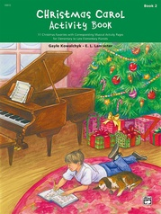 Christmas Carol Activity Book, Book 2