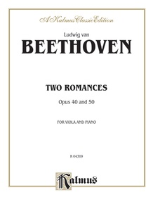 Two Romances, Opus 40, 50