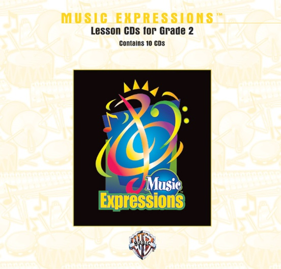 Music Expressions™ Grade 2: Lesson CDs
