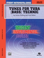Student Instrumental Course: Tunes for Tuba Technic, Level II