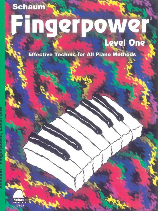 Fingerpower® Book, Level 1