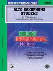 Student Instrumental Course: Alto Saxophone Student, Level I