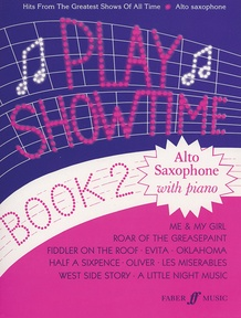 Play Showtime for Alto Saxophone, Book 2
