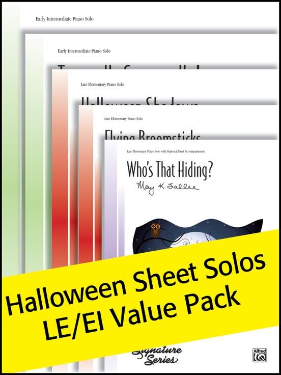 Halloween Sheet Solos LE/EI (Value Pack)