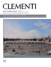 Clementi, Six Sonatas, Opus 4 (Opus 37, 38)