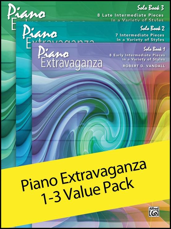 Piano Extravaganza 1-3 (Value Pack)