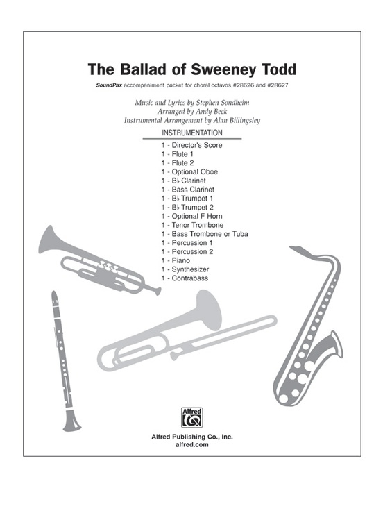The Ballad of Sweeney Todd (from the musical Sweeney Todd)