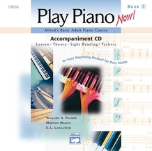 Alfred's Basic Adult Piano Course: Play Piano Now! CD for Level 1