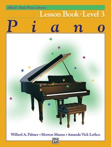 Alfred's Basic Piano Library: Lesson Book 3