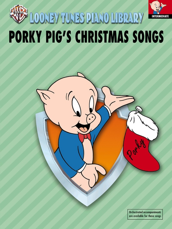 Looney Tunes Piano Library, Level 4: Porky Pig's Christmas Songs ...