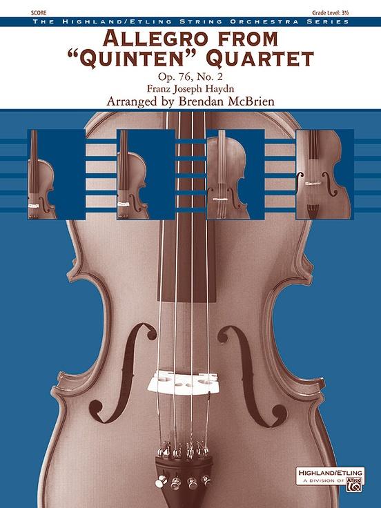 """Allegro from """"Quinten"""" Quartet"""
