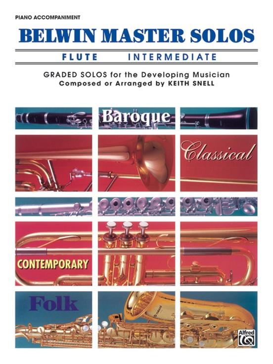 Belwin Master Solos, Volume 1 (Flute)
