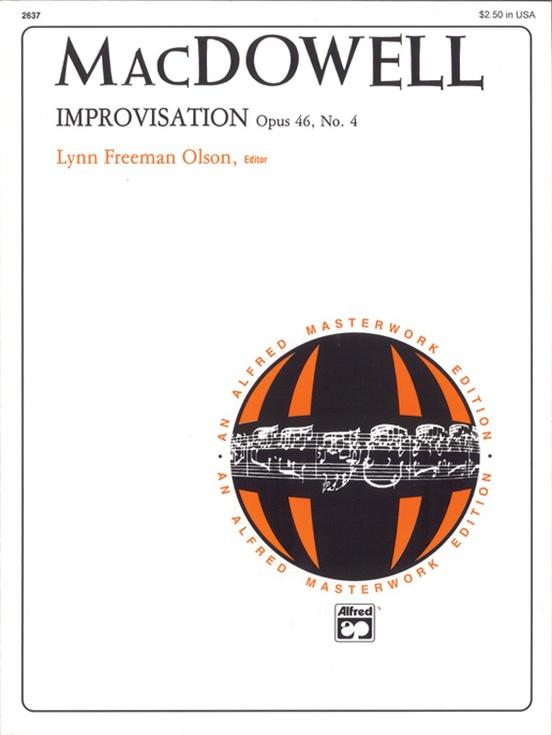 MacDowell: Improvisation, Opus 46, No. 4