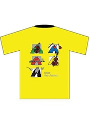 Taste the Classics! T-Shirt: Yellow (Children's Large)