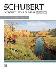 Schubert: Impromptu, Opus 90, No. 4