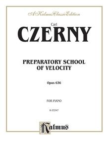 Preparatory School of Velocity, Opus 636