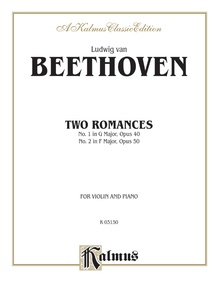 Two Romances, Opus 40 and 50