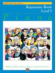 Alfred's Basic Piano Library: Repertoire Book 5