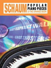 John W. Schaum Popular Piano Pieces, D: The Orange Book