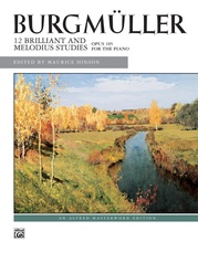 Burgmüller, 12 Brilliant Studies, Opus 105