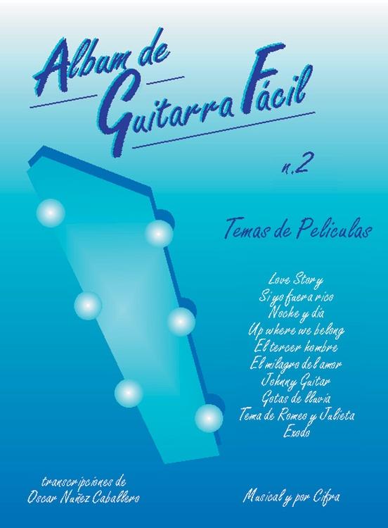 Album de Guitarra Facil N.2: Temas de Películas