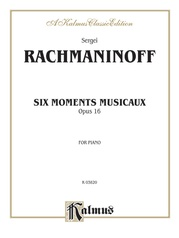 Six Moments Musicaux, Opus 16